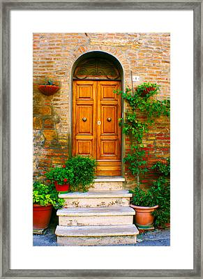 Montepulciano No. 1 Framed Print by Rob Tullis