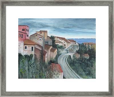 Montepulciano Framed Print