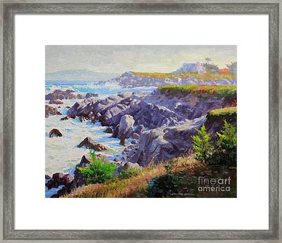 Monteray Bay Morning 1 Framed Print by Gary Kim