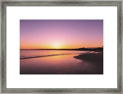 Monterey Beach Framed Print