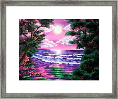 Monterey Framed Print by Diana Lehr