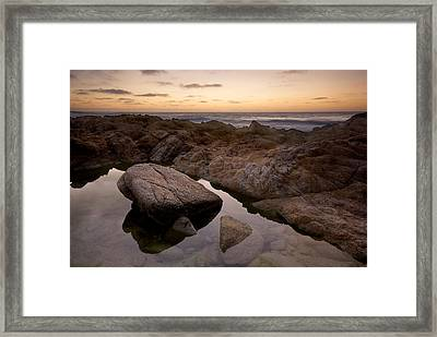Monterey Sunset Framed Print by Mike Irwin