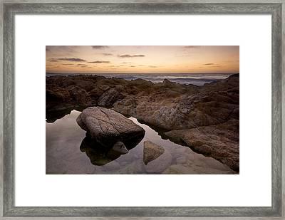 Monterey Sunset Framed Print