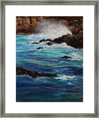 Monterey Wave #2 Framed Print