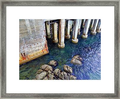 Montery Bay Framed Print