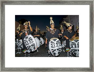 Montevideo Carnaval Framed Print by Kobby Dagan