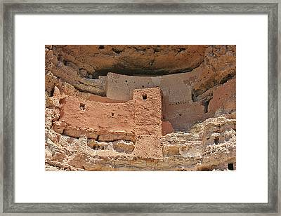Montezuma Castle - Special In It's Own Way Framed Print by Christine Till