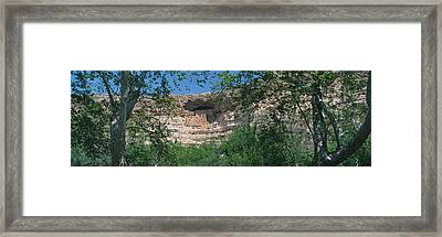 Montezuma Castle, Arizona Framed Print by Panoramic Images