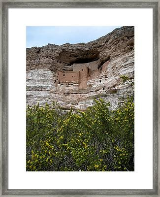 Montezuma Cliff Dwellings Framed Print