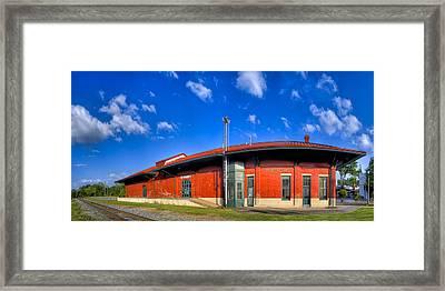Montezuma Depot - Classic Queen Anne Framed Print by Mark E Tisdale