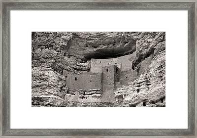 Montezuma's Castle Framed Print by Joseph Smith