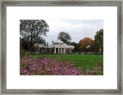 Monticello Framed Print by Eric Liller