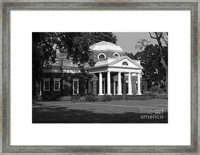 Monticello IIi Framed Print by Eric Liller
