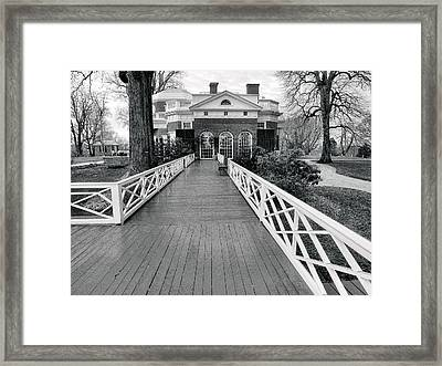 Monticello IIi Framed Print by Steven Ainsworth