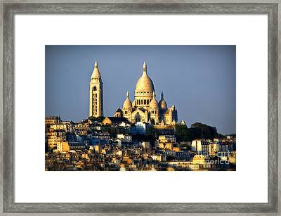 Montmartre Framed Print by Alessandro Giorgi Art Photography