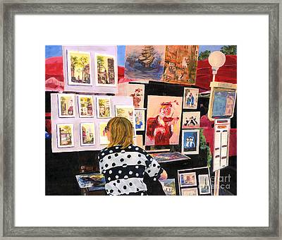 Montmartre Circa 1977 Framed Print