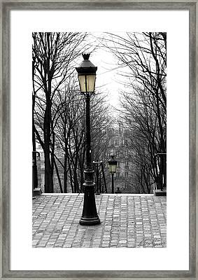 Montmartre Framed Print by Diana Haronis