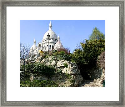 Montmartre Framed Print by Hans Jankowski