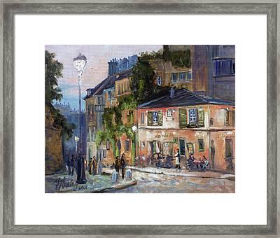 Montmartre, Paris Framed Print