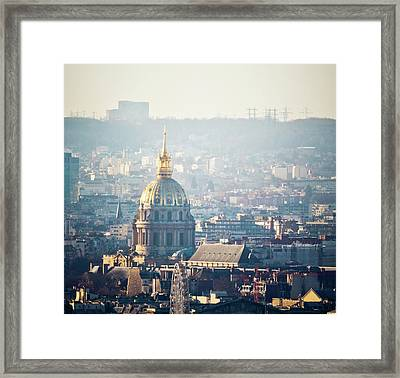 Montmartre Sacre Coeur Framed Print by By Corsu sur FLICKR