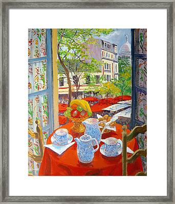 Montmartre Framed Print by William Ireland