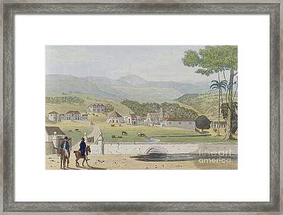 Montpelier Estates - St James Framed Print by James Hakewill