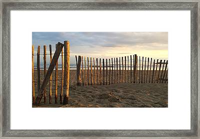 Montpellier France Beach  Framed Print by Beryllium Photography