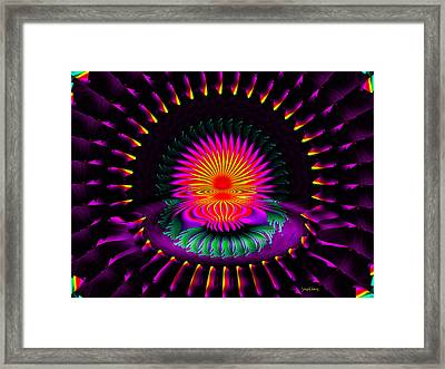 Montra Framed Print by Robert Orinski