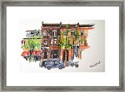 Montreal 1 Framed Print