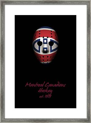 Montreal Canadiens Established Framed Print by Joe Hamilton