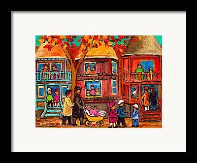 Montreal Synagogues Framed Prints