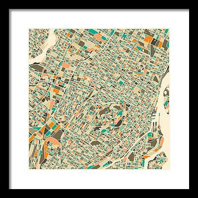 Montreal Framed Prints