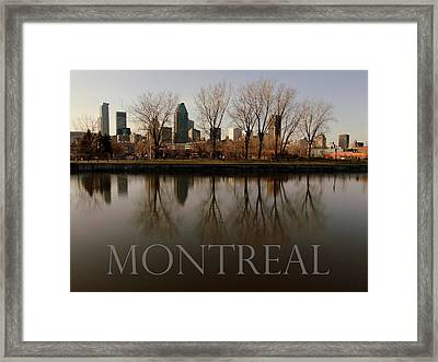 Montreal Framed Print by Robert Knight