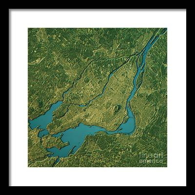 Ottawa River Framed Prints
