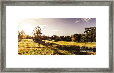 Montville Afternoon Landscape Framed Print by Jorgo Photography - Wall Art Gallery