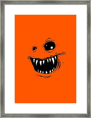 Monty Framed Print by Nicholas Ely