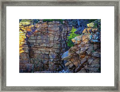 Monument Cove I Framed Print by Rick Berk