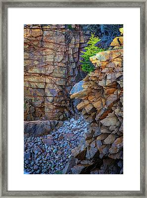Monument Cove II Framed Print by Rick Berk