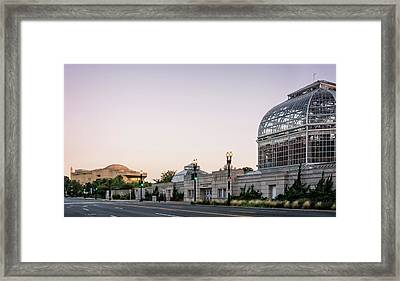Framed Print featuring the photograph Monument Museum And Garden by Greg Mimbs