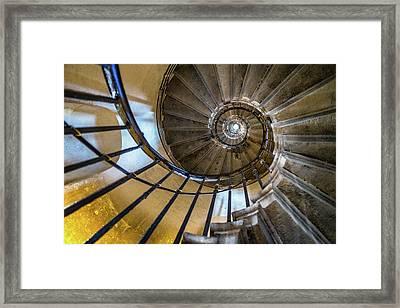 Monument Stairs Framed Print by Jae Mishra