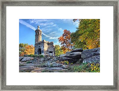 Monument To The 44th Framed Print