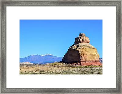 Monument To Time Framed Print