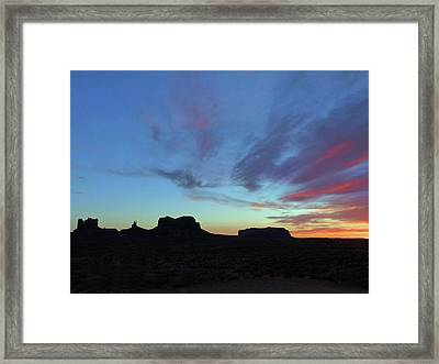 Monument Valley 2016 11 Framed Print by Jeff Brunton