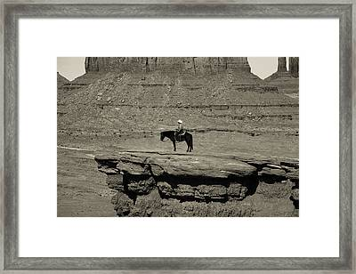 Monument Valley 4 Framed Print
