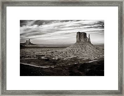 Monument Valley Framed Print by Andrew Soundarajan