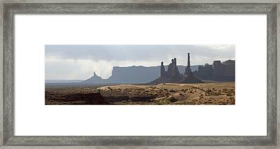 Monument Valley Framed Print by Mike Irwin