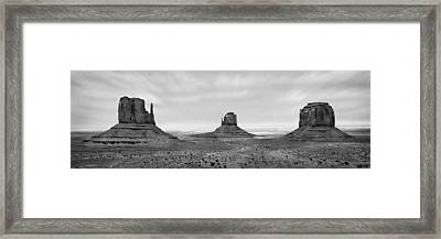 Monument Valley Framed Print by Mike McGlothlen