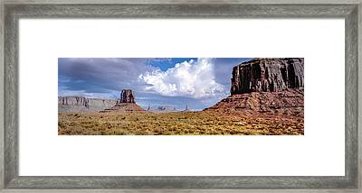 Monument Valley Mittens Framed Print
