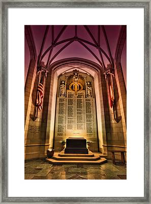 Monumental Framed Print by Evelina Kremsdorf