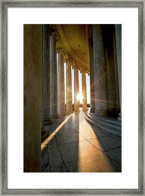 Monumental Light Framed Print